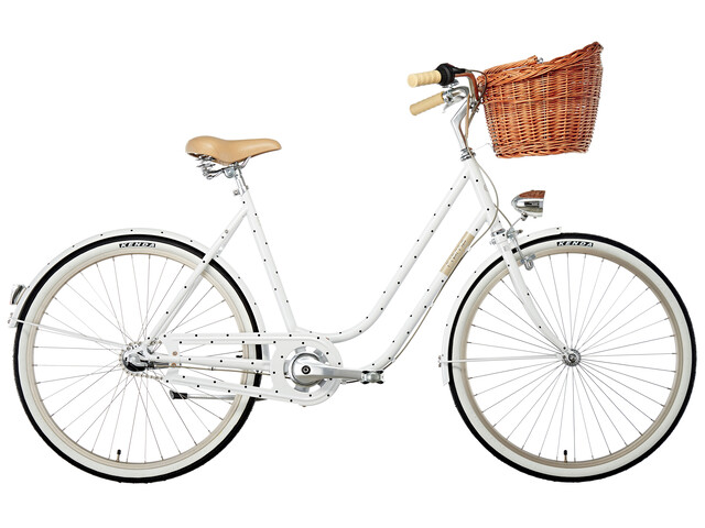 Creme Molly Stadsfiets Dames wit